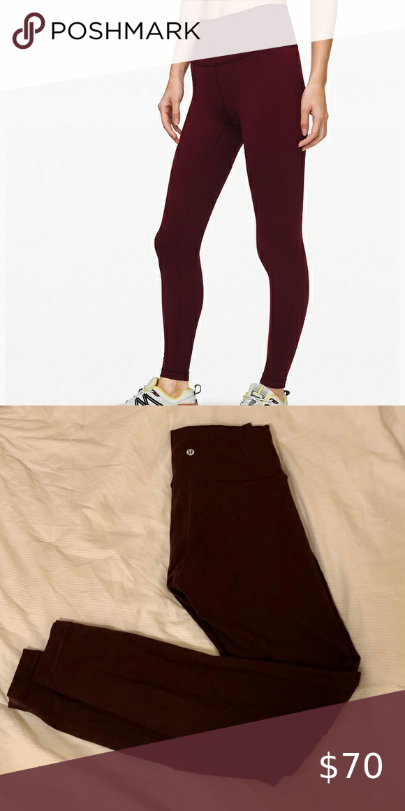Lululemon Wunder Unders Size 8 In 2020 Leggings Are Not Pants Clothes Design Pants For Women