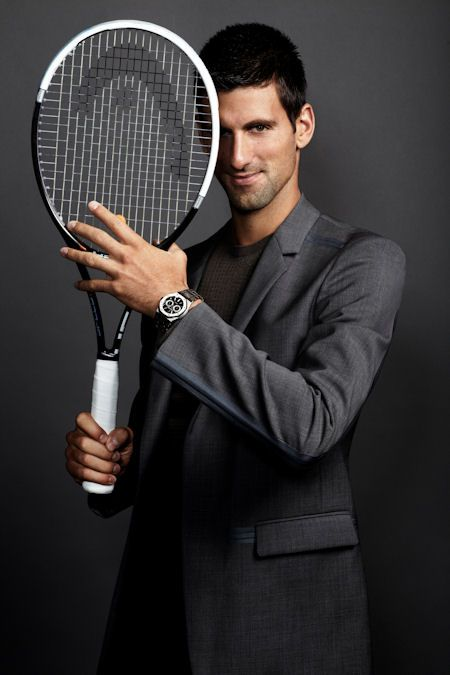 Pin By Watchtime Magazine On Athletes And Watches Novak Djokovic Tennis Players Tennis