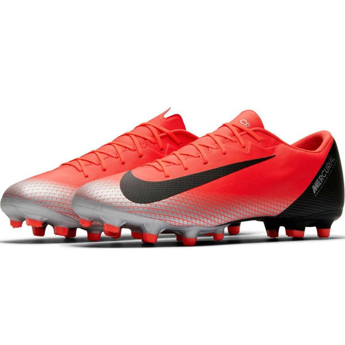 Buty Pilkarskie Nike Mercurial Vapor 12 Academy Cr7 Mg M Aj3721 600 Wielokolorowe Czerwone Football Shoes Mens Football Boots Shoes