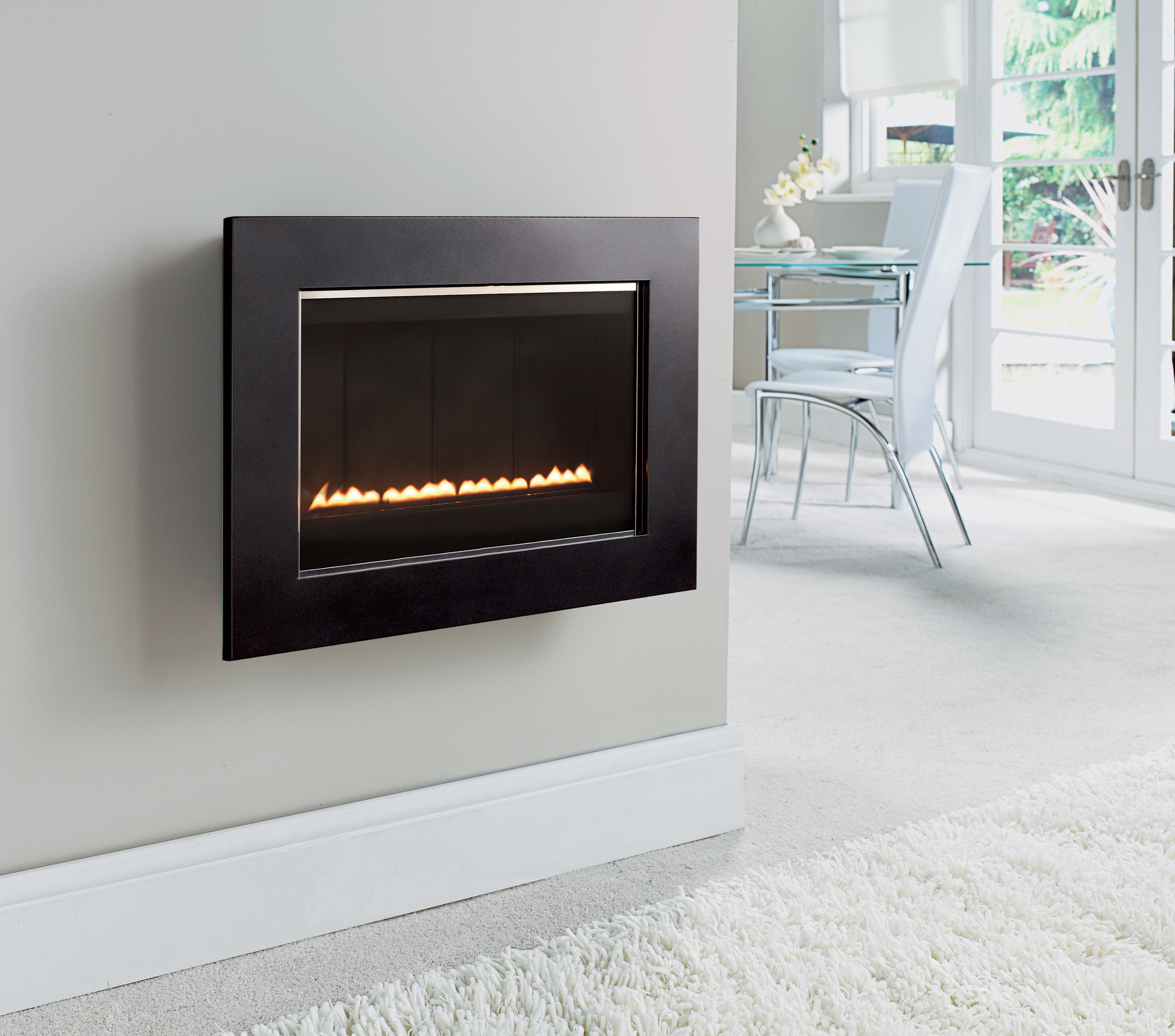 sfl50 wall mounted flueless gas fire flueless wall mounted gas
