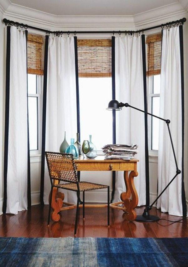 25 moderne Gardinen Ideen für Ihr Zuhause   Ideen rund ums Haus ...