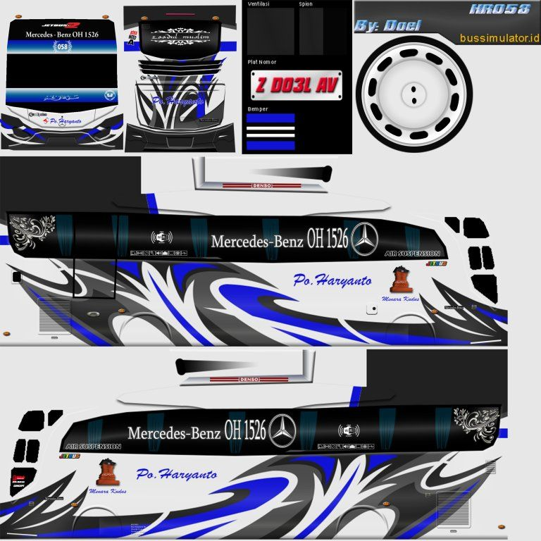 Bagi Bagi Livery Bussid Di 2020 Mobil Modifikasi Mobil