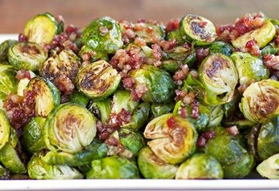 Maple Glazed Brussel Sprouts | Ideal Protein Recipes Naperville Plainfield Bolingbrook #idealproteinrecipesphase1dinner