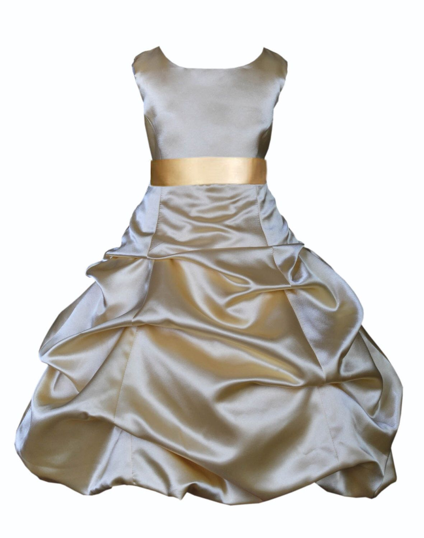 Gold Recital Dresses