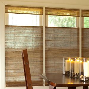 Levolor 174 Natural Woven Wood Shades Living Room Blinds