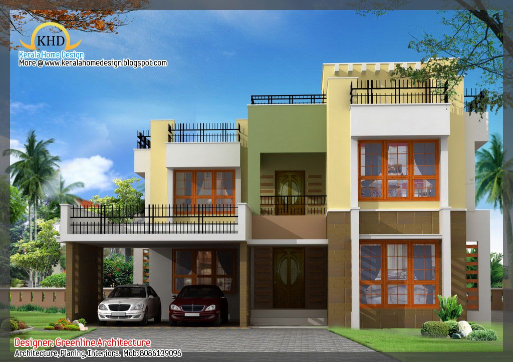 Housedesigns 16 Awesome House Elevation Designs Home