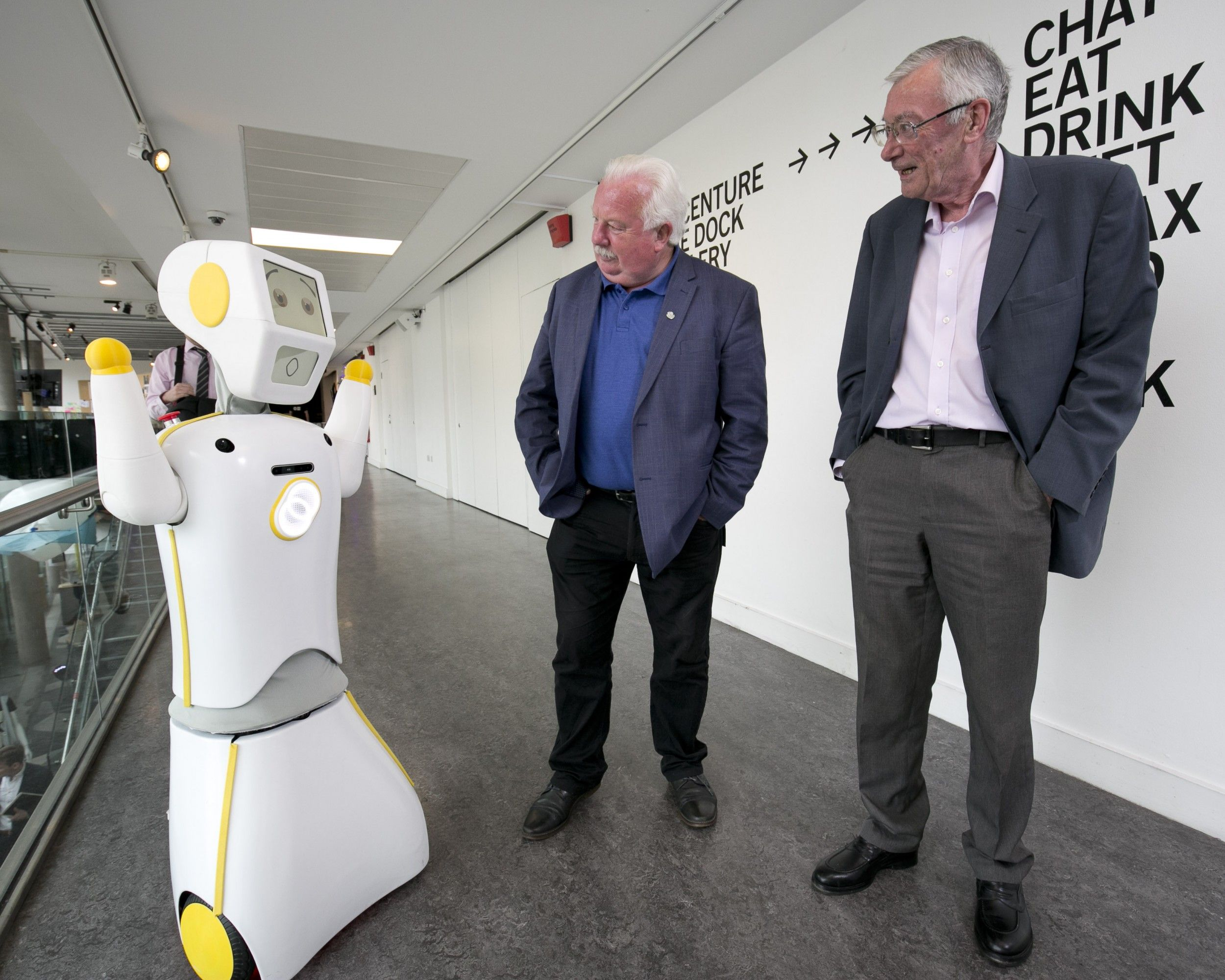 Robotics Engineers Unveil Stevie Ii Ireland S First Socially