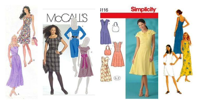 Free Dress Patterns Wardrobe I Can Make Pinterest Dress
