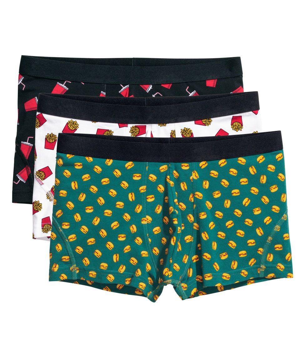 Three orders of fast food boxer shorts 41b89061bb