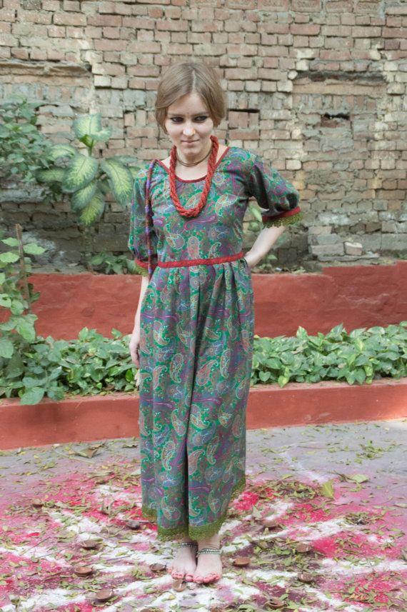 Boho Dress  Indian Inspired Evening Dress  by GopalAkhileshwariArt