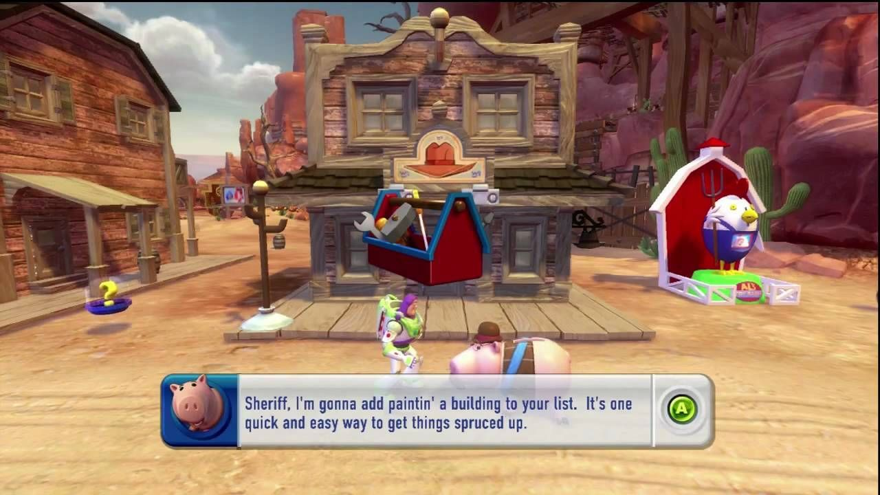 Movies to Video Games Review Toy Story 3 (PS3 Xbox 360 Wii
