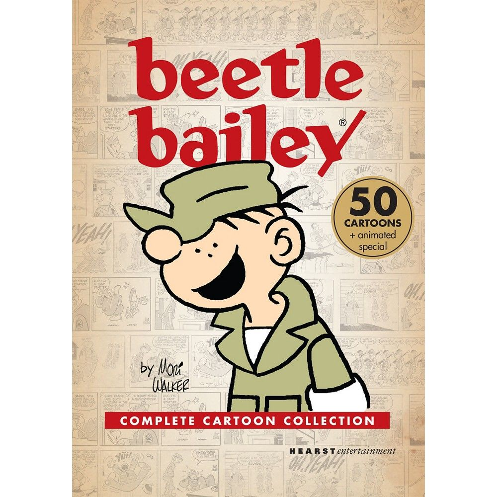 Beetle Bailey: Complete Cartoon Collection (dvd_video)