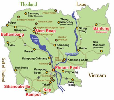 lonely planet vietnam cambodia laos & northern thailand travel guide