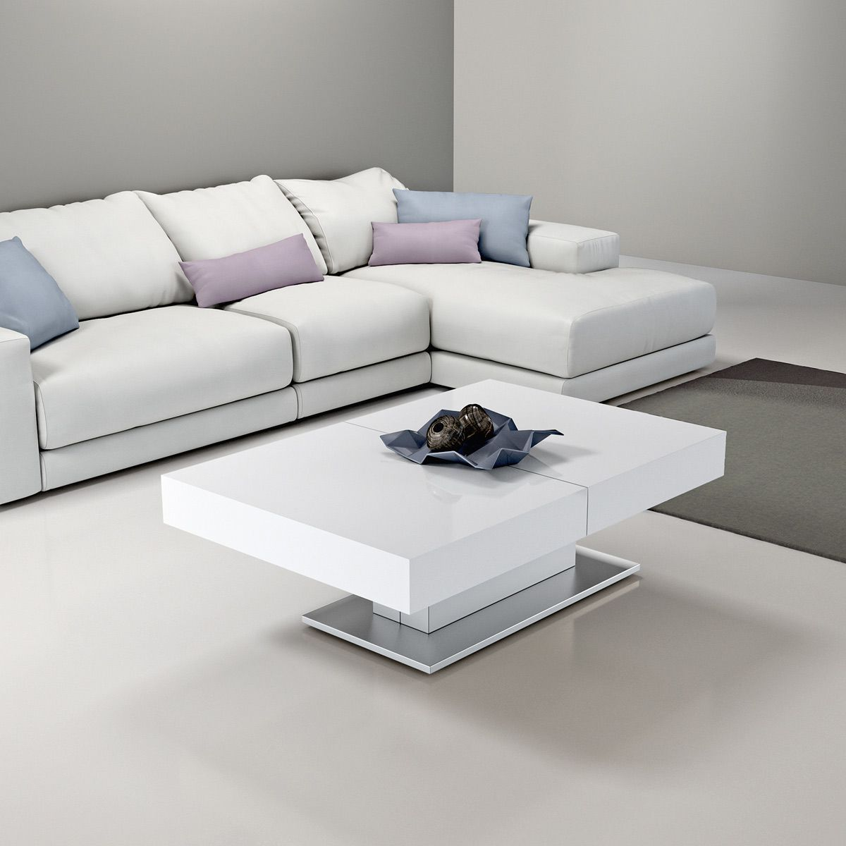 Table Basse Modulable Design Ares Fold Inox Zendart La Redoute Mobile Living Room Tv Coffee Table Centerpieces Table