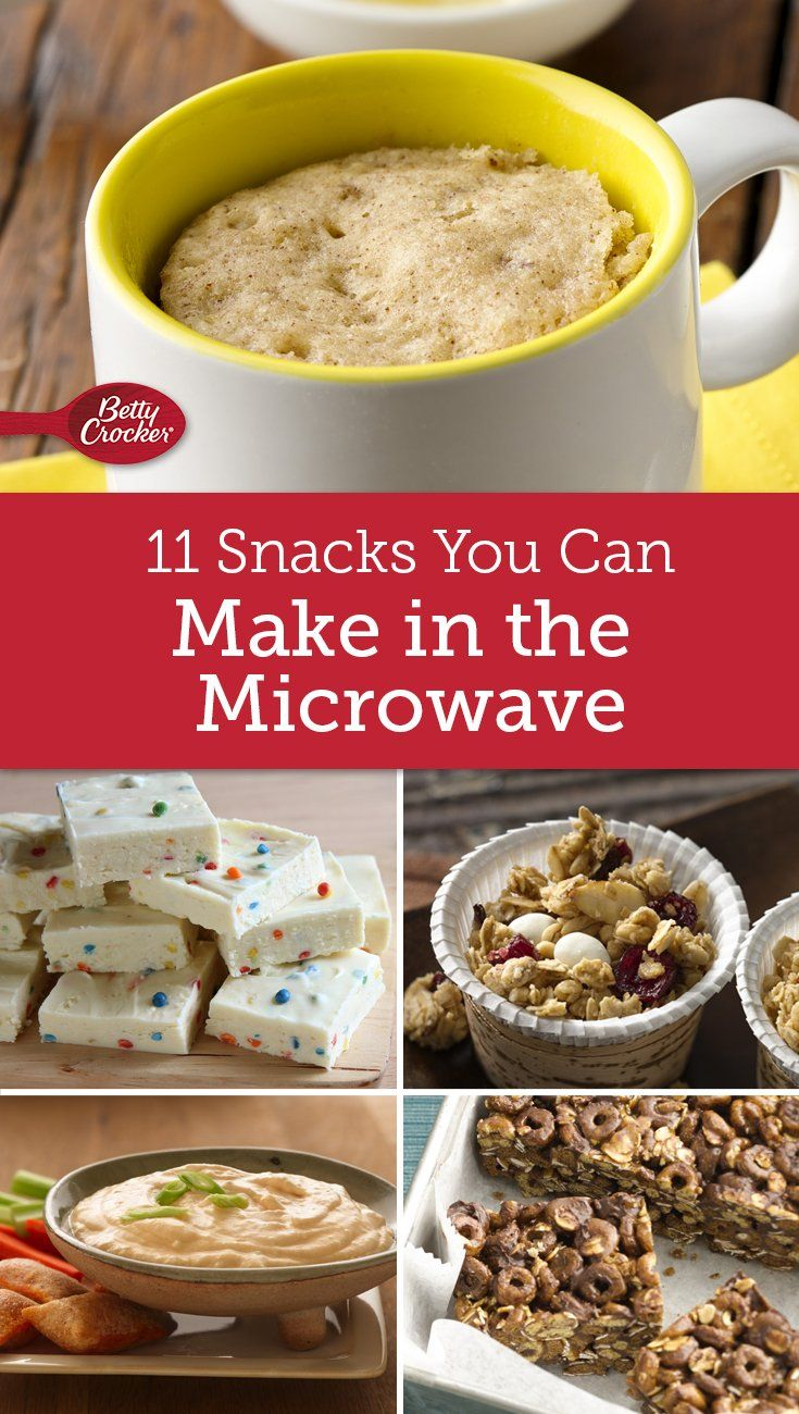 You Only Need A Microwave To Make These Easy Snacks