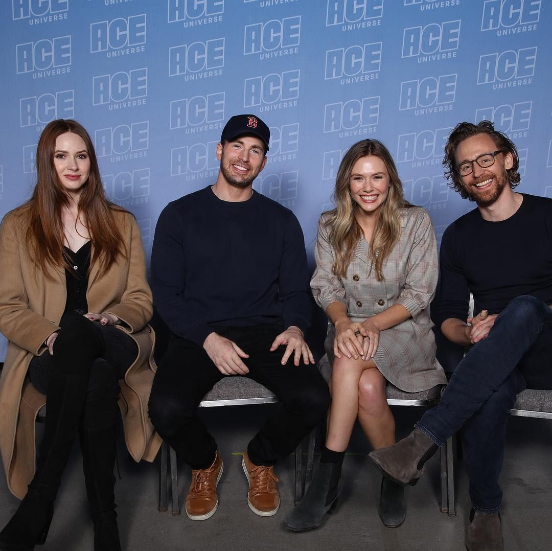 The Avengers Have Assembled At Acecomiccon Nebula Captainamerica Scarletwitch Loki Aceuniverse