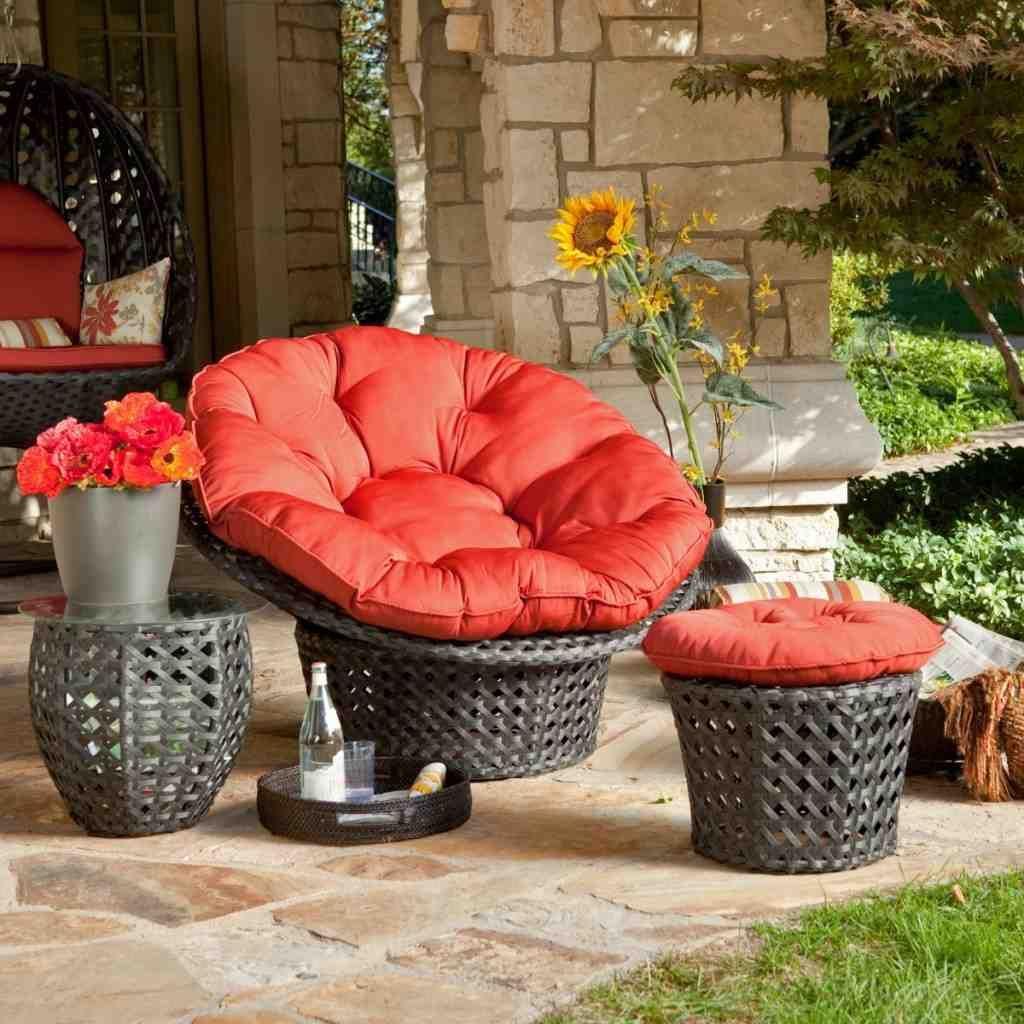 Outdoor Papasan Chair Cushion Outdoor Seat Cushions Patio