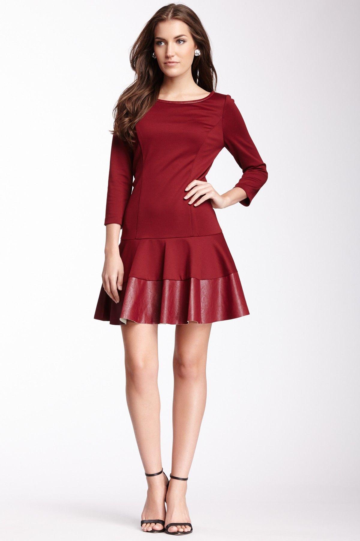 923425a018 Pleated Drop Waist Dress