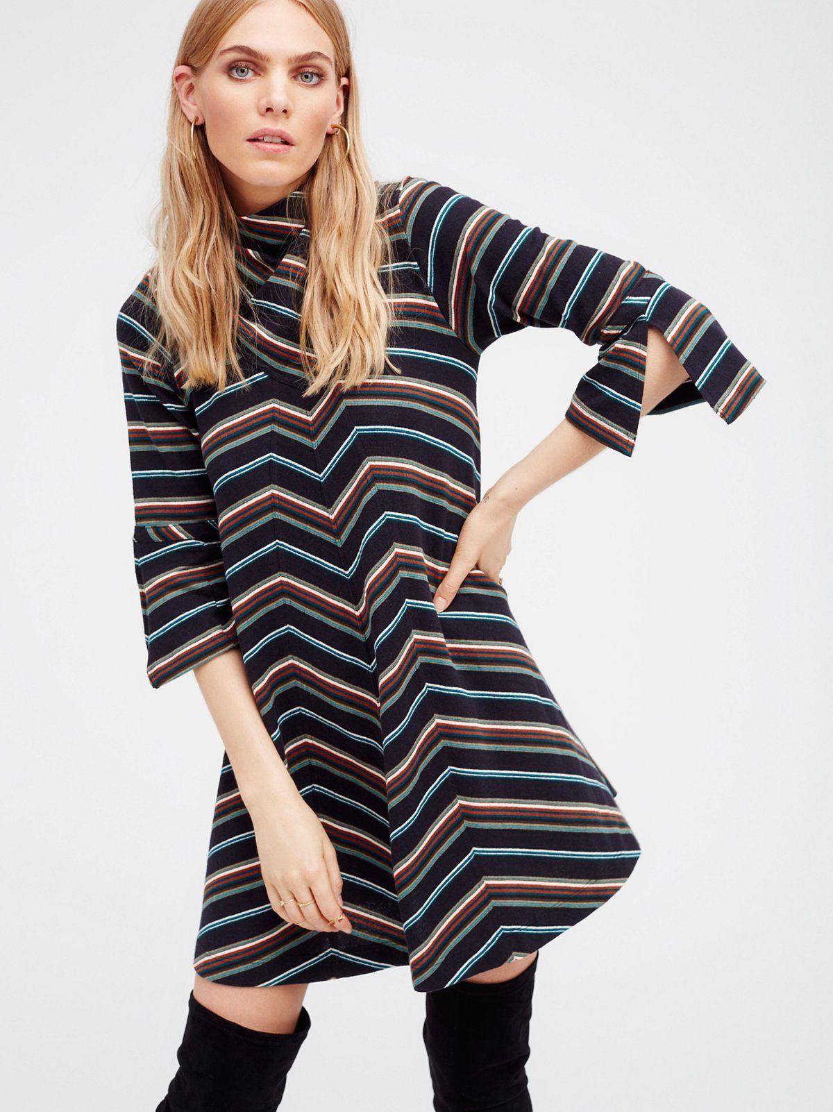 5791723d0a1 Adobe Stripe Mini Dress