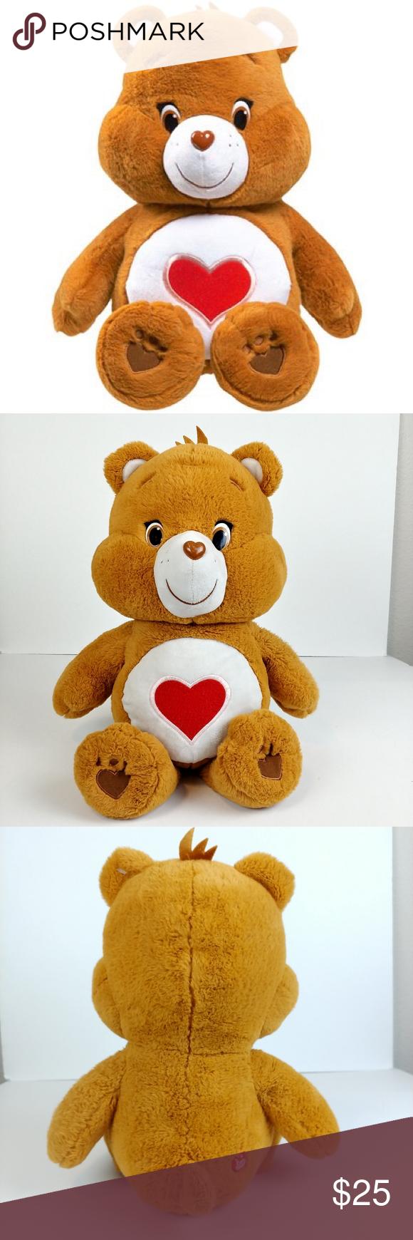 Original Tender Heart Large Care Bear In 2020 Care Bear Kids Accessories Bear