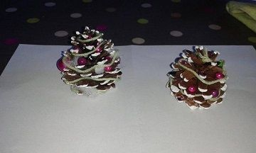 Décorer Une Pomme De Pin Pour Noël #pomme #pin #décoration #noel #