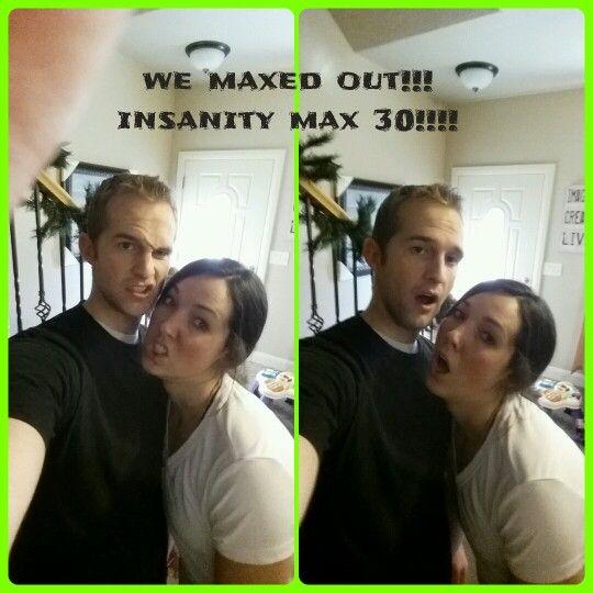 Fun workouts to do as a couple!  Insanity max 30!  www.beachbodycoach.com/shredthoseaubs