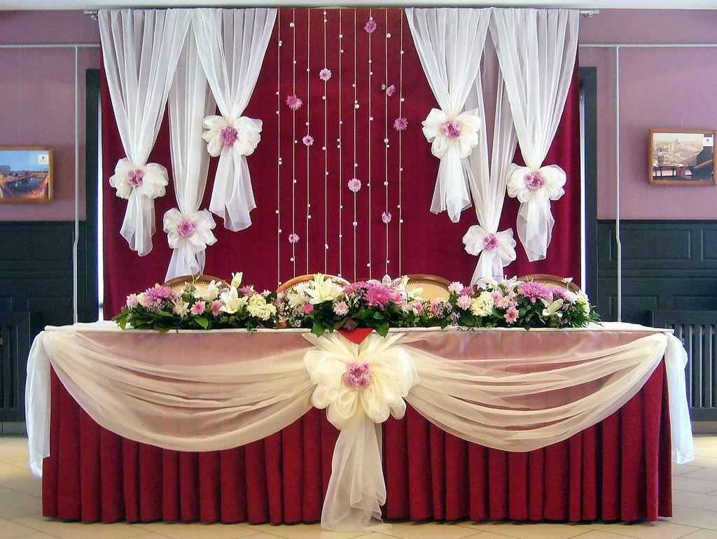 основной украшение свадебного стола жениха и невесты фото азы технического