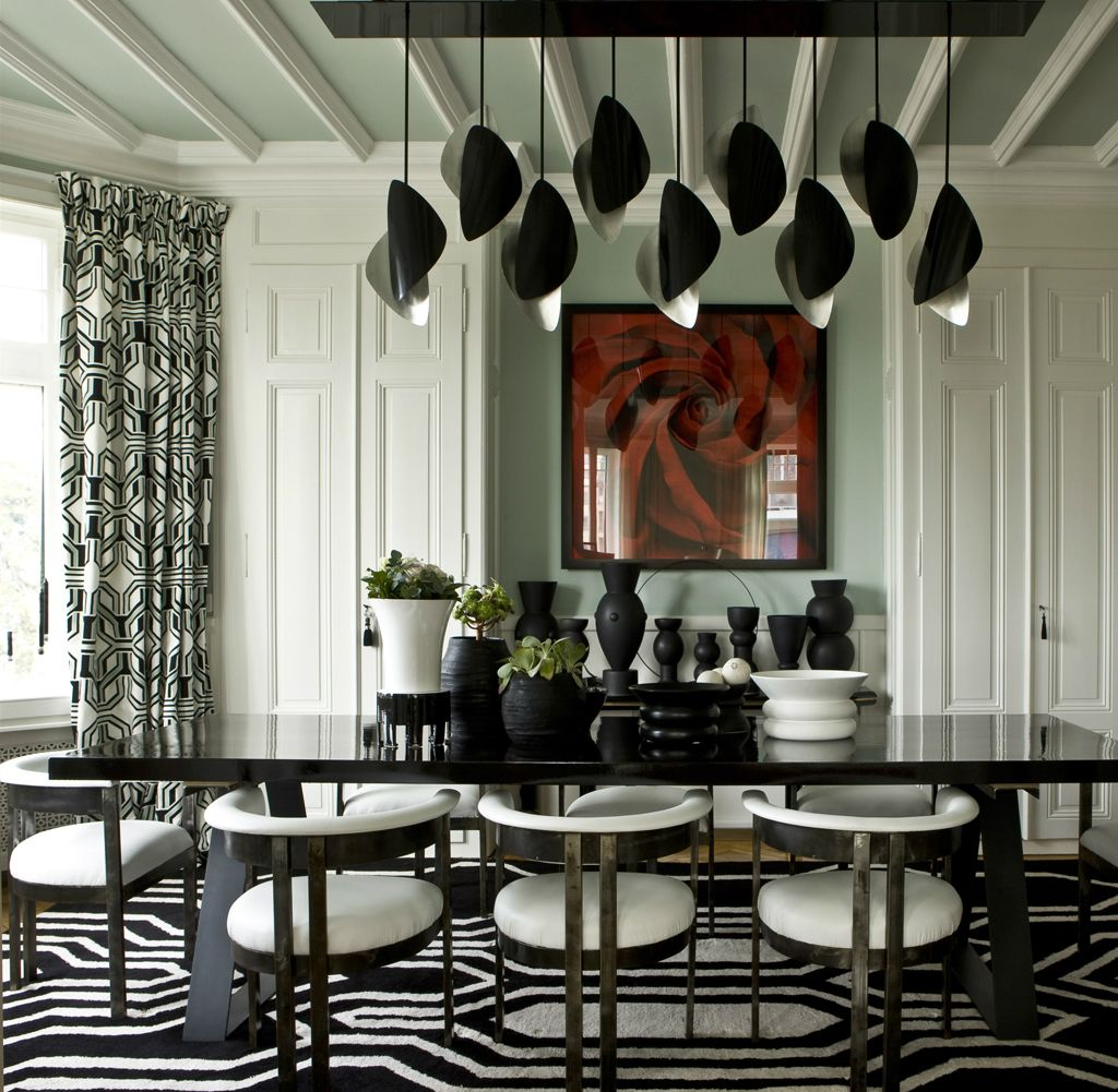 Elle Decor Predicts The Color Trends For 2017 Luxury Dining RoomDining
