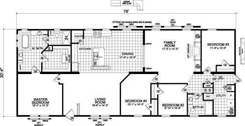 Homes Of Merit >> Homes Of Merit Mobile Homes Floor Plans Mobile Home Floor