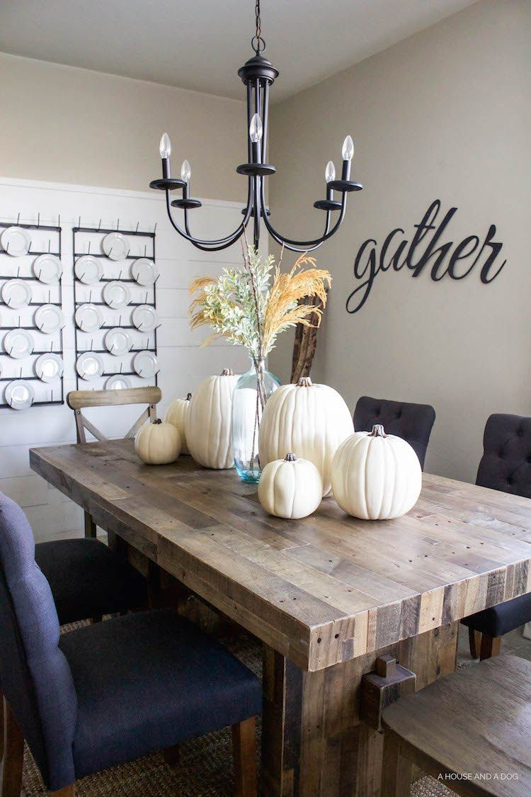 Fall Dining Room and Tablescape Ideas Decorating Room and Spaces