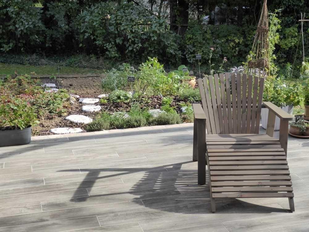 terrasse-carrelage-exterieur-imitation-parquet-blanchi Home sweet - carrelage terrasse exterieur imitation bois