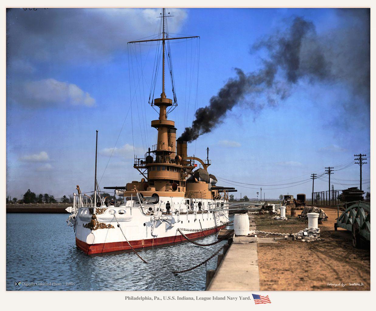 USS Indiana (BB-1) Indiana class