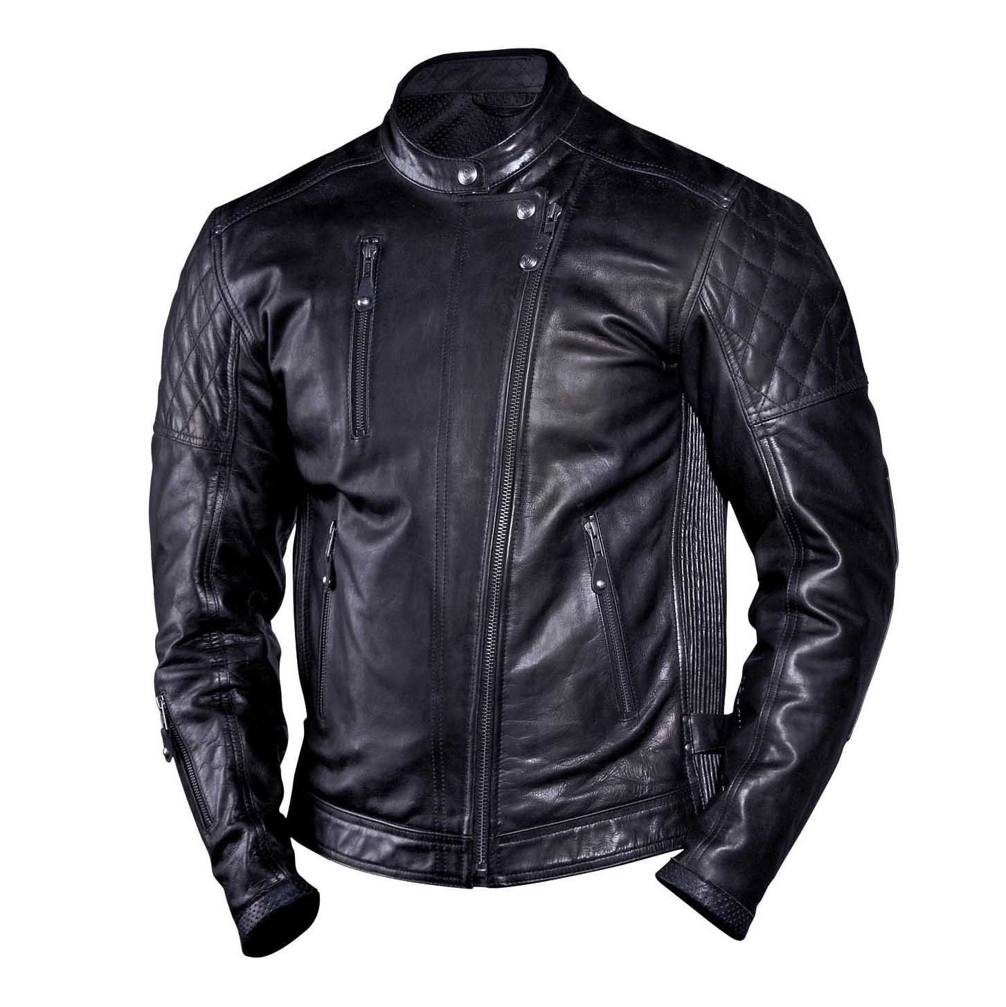 Roland Sands Design Clash Leather Motorcycle Jacket Revival Cycles Custom Leather Jackets Roland Sands Design Jacket Leather Jacket Black [ 1454 x 1453 Pixel ]