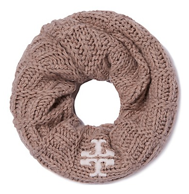 Tory Burch Whipstitch-T Infinity Scarf