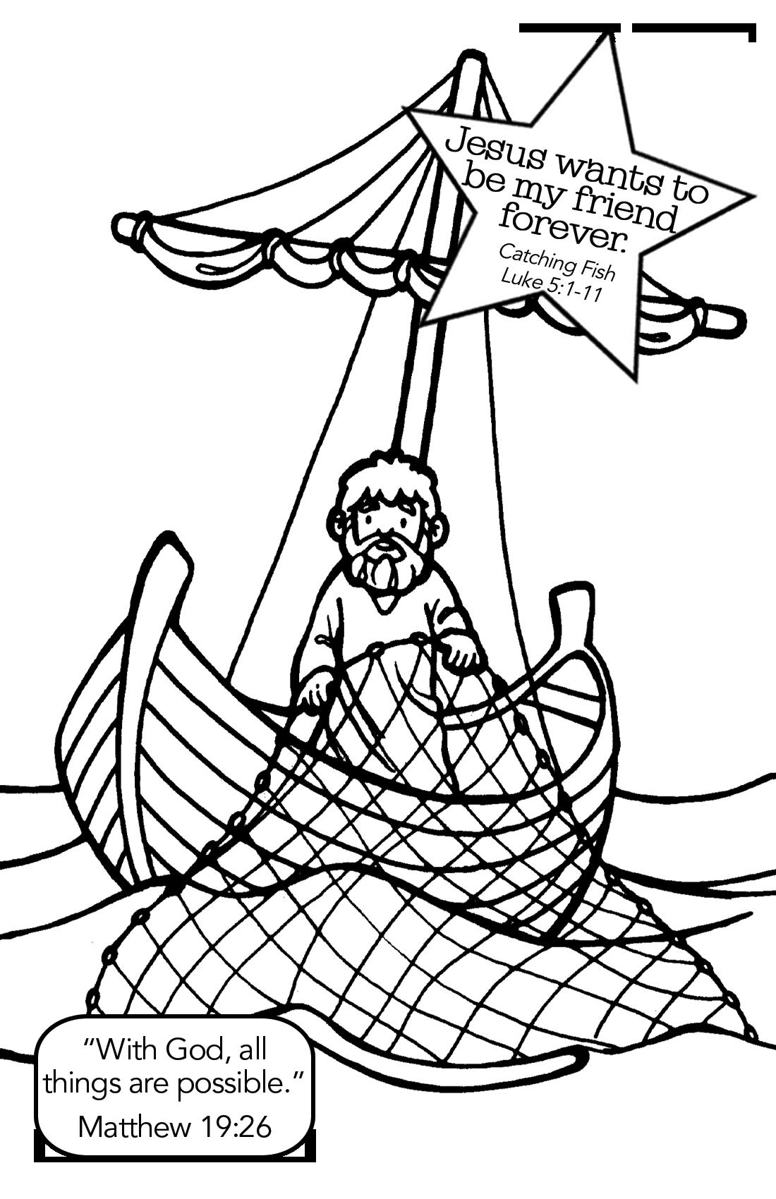 The Disciples Catch Fish Luke 5 1 11