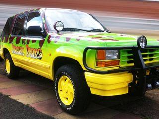 Hire Our Juric Park Car Replica