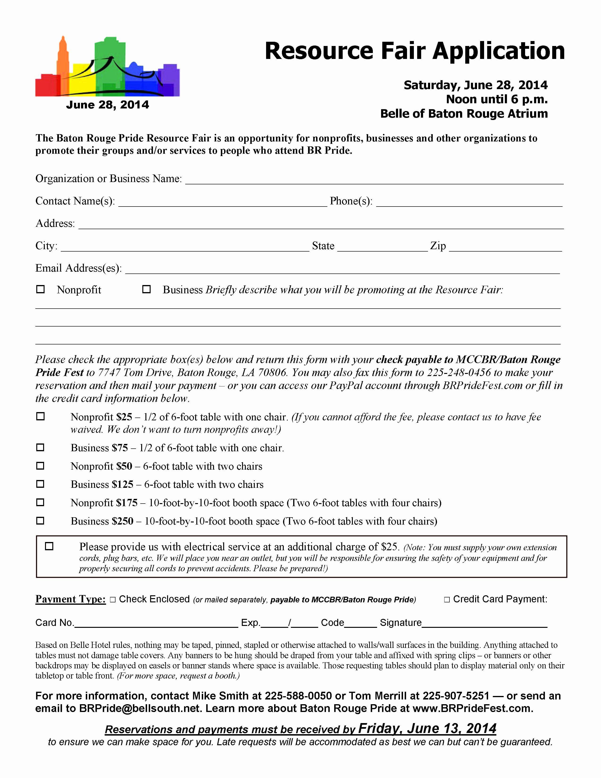 Vendor Application form Template New Index Of Cdn 5 2011