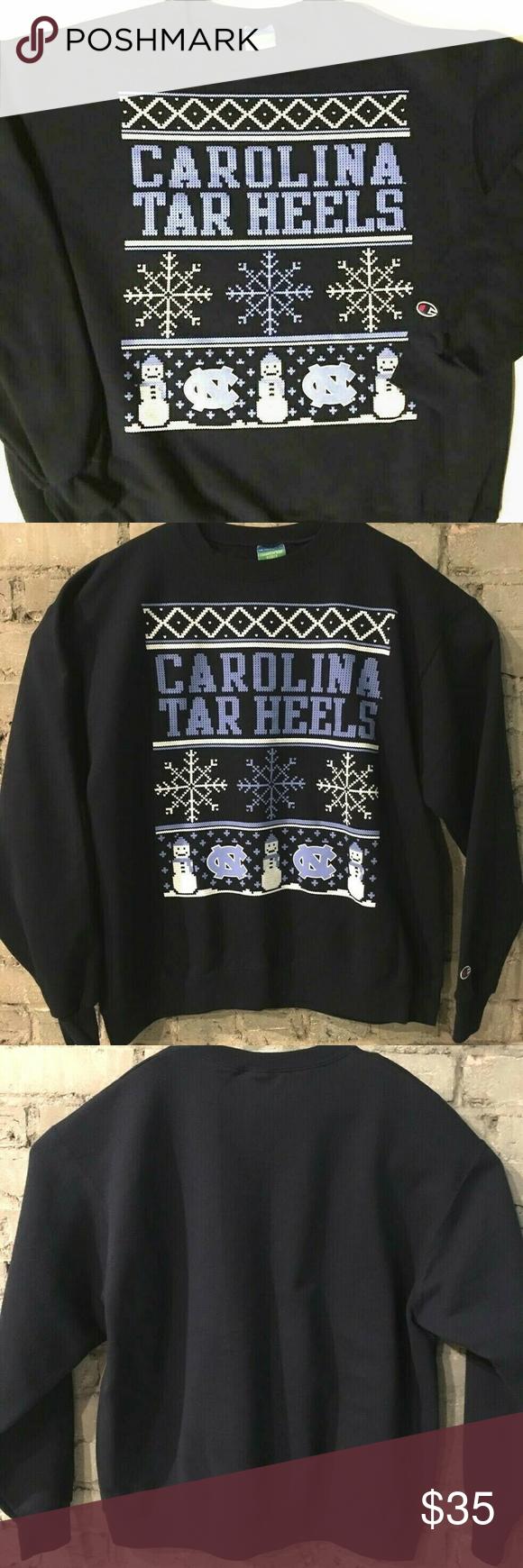 Unc Tar Heels Champion Eco Fleece Sweatshirt Sz Xl Sweatshirt Fleece Sweatshirts Champion Shirts [ 1740 x 580 Pixel ]