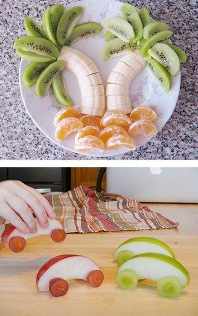 Des idées d'assiettes rigolotes pour enfants