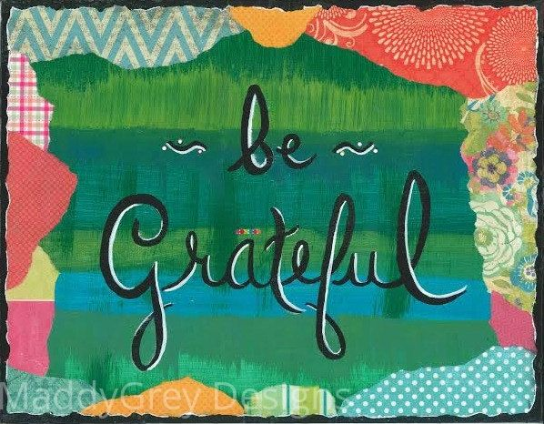 Be grateful, word art, thankful, blessed, give thanks, affirmations, blessings, spiritual art, grateful art, wall art, inspirational art - pinned by pin4etsy.com