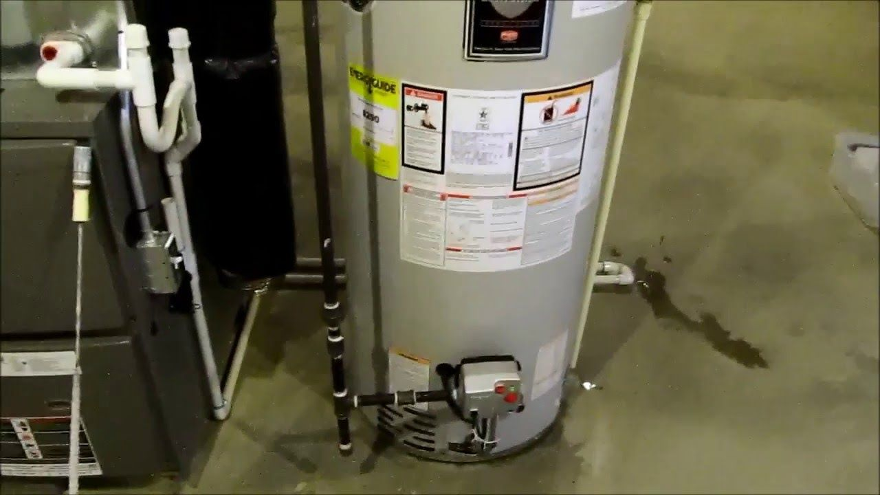 Bradford White Ds150s6fsx 337 50 Gallon Direct Vent Natural Gas Water Heater Water Heater Parts Amaz Natural Gas Water Heater Gas Water Heater Water Heater