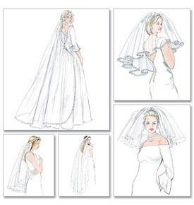 Craftdrawer Crafts Free Sewing Pattern For A Bridal Veil