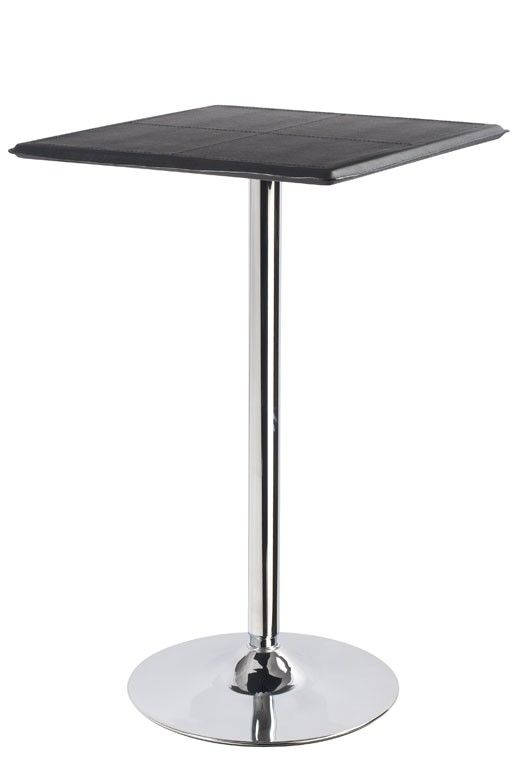 Merveilleux Square Bistro Table Black