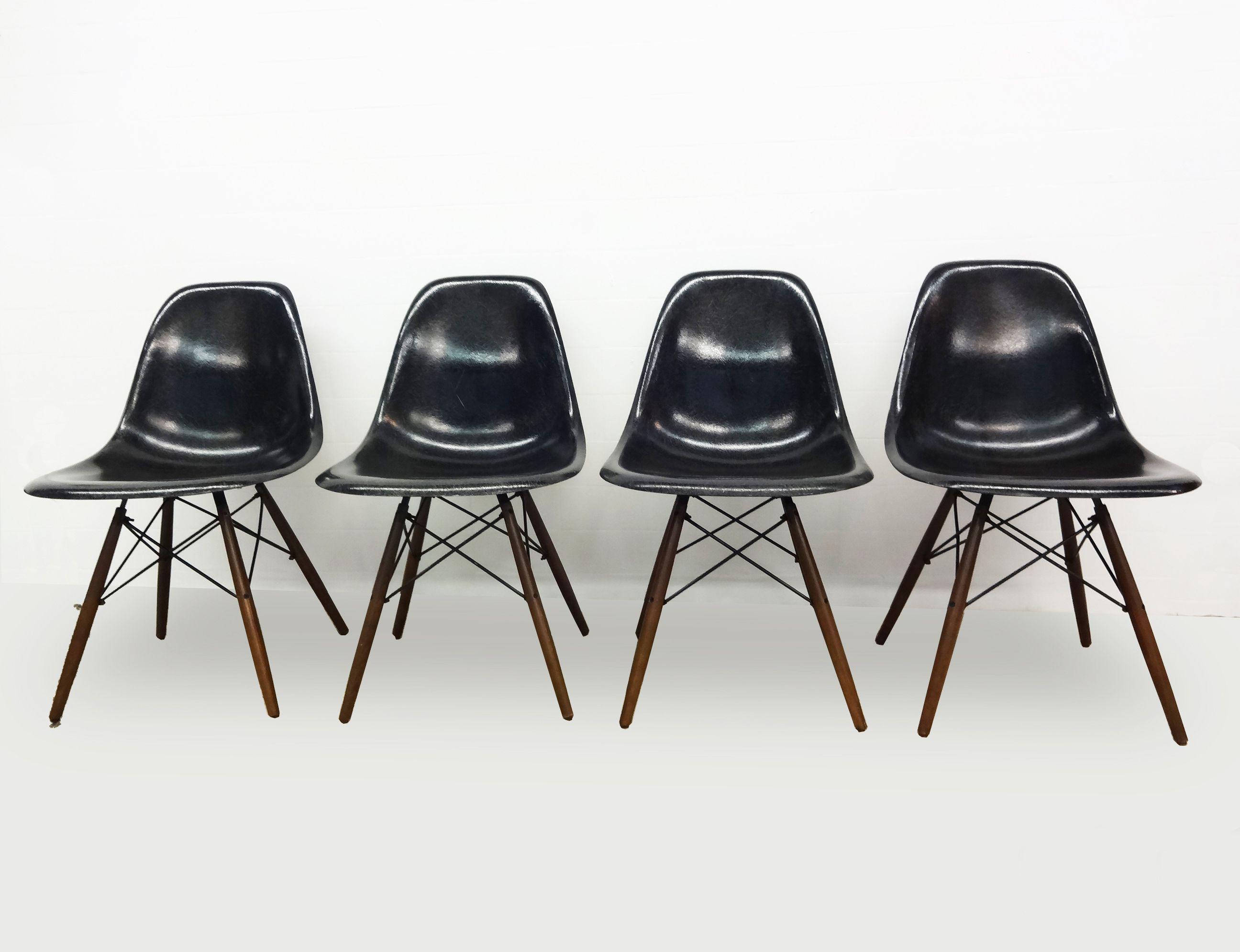 Eames Rar Stoel : Originele #charles #eames #herman miller #dsw #stoelen #glasvezel