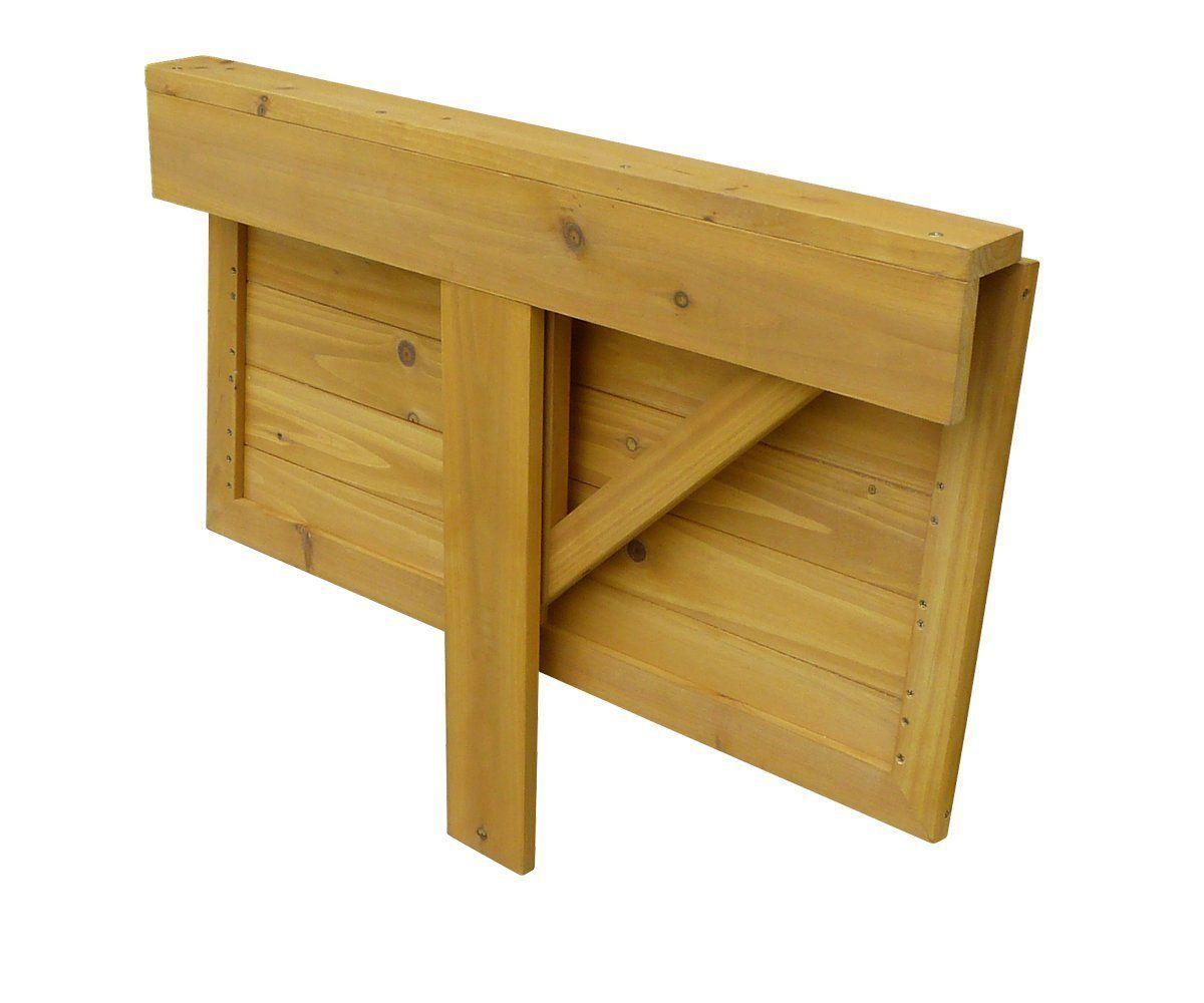 leisure season dl6322 wall mounted drop leaf table patio lawn garden. Black Bedroom Furniture Sets. Home Design Ideas