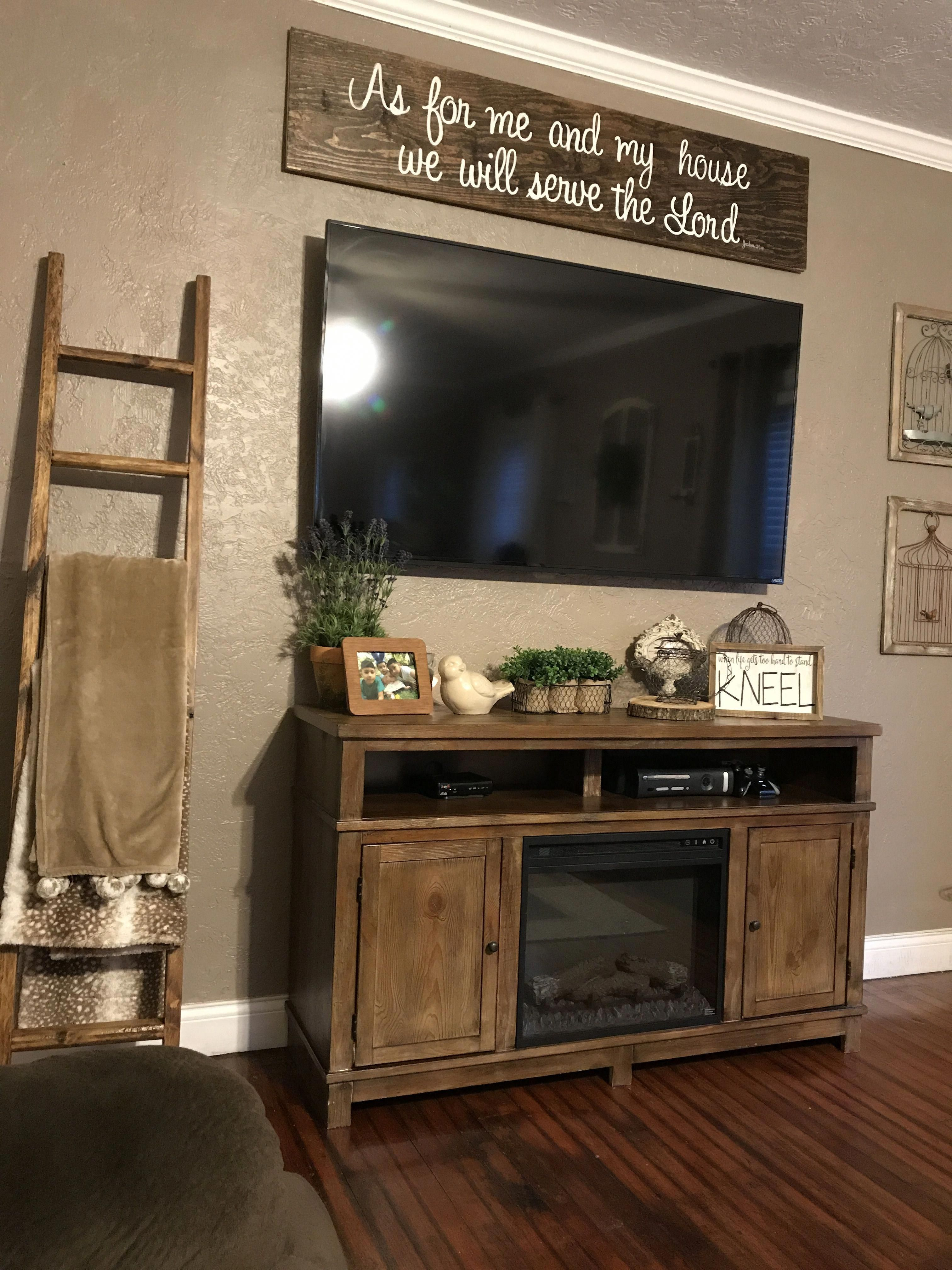 Explore Tv Wall Mount Ideas On Pinterest See More Ideas About Tv Wall Ideas Living Room M Living Room Tv Wall Farm House Living Room Living Room Tv Stand