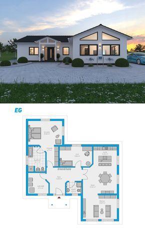 Berger Massivhaus plana 138 schlüsselfertiges massivhaus bungalow häuser