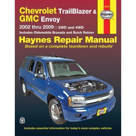 GMC ENVOY SHOP MANUAL REPAIR BOOK XL HAYNES SERVICE GM Vehicle ...