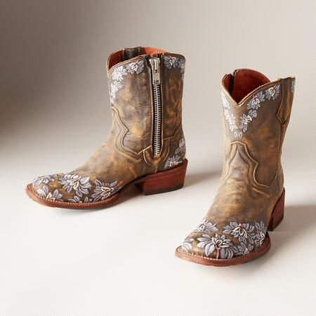 VIOLETTA BOOTS - square toe, Western boots from Sundance catalog ...