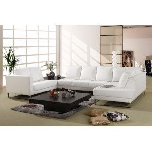 White Bonded Leather Sectional Sofa Cool Modern Sofa W Awesome Built In End Table Sectional Sofa Couch Design Modern Sofa Living Room